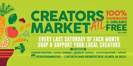 Creators Market ATL tickets
