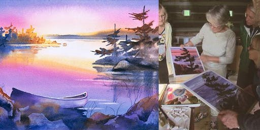 Watercolour Painting with Joyce Burkholder