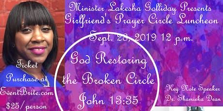 Girlfriend's Prayer Circle Luncheon tickets