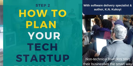 How to plan your tech startup business