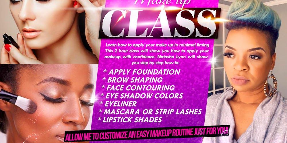 """Makeup Class """"Beginners- Intermediate Course"""" Tickets, Sun, Sep 29"""