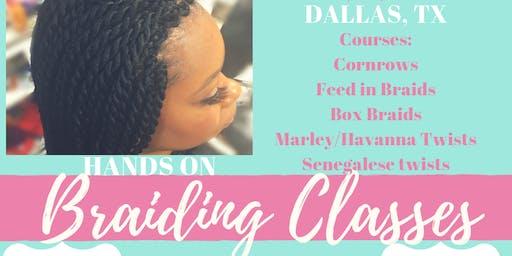 Zion's Braiding Class Dallas