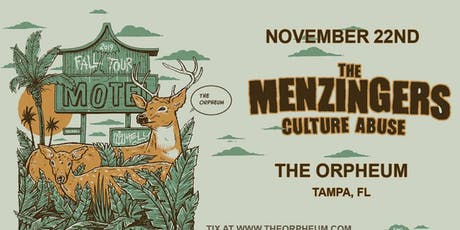 THE MENZINGERS @ The Orpheum tickets