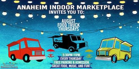 August Food Truck Thursdays tickets