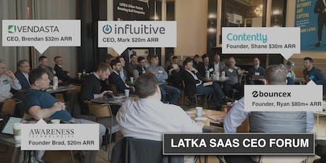 Latka CEO Forum NYC tickets
