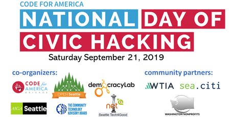 National Day of Civic Hacking tickets