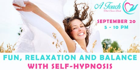 FUN, RELAXATION AND BALANCE WITH SELF-HYPNOSIS tickets