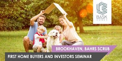 Bask Homes First-Home-Buyer & Investors Seminar