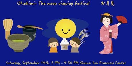 "Otsukimi - Tea Ceremony & Japanese Traditional Dance ""Buyo"" tickets"