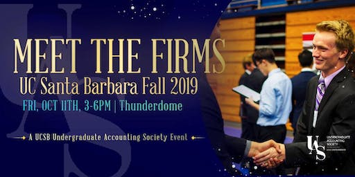 UCSB Meet the Firms 2019 - Firm Representative Registration