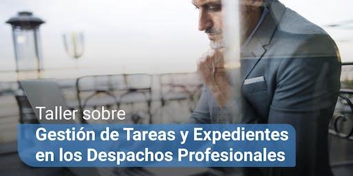 Gestión de Tareas y Expedientes en los Despachos Profesionales