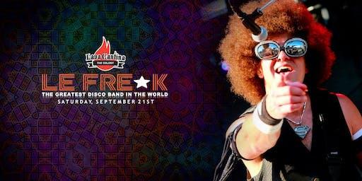 Le Freak with special guest DJ Art