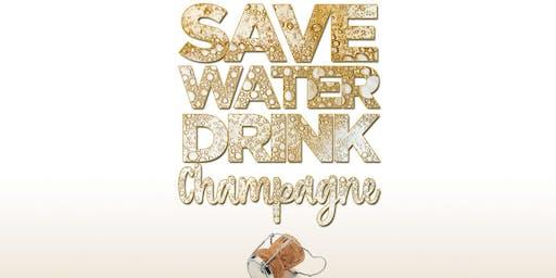 SAVE WATER, DRINK CHAMPAGNE DAYTIME FT PETER GUNZ