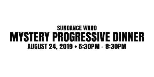 Sundance Ward 2019 Mystery Progressive Dinner