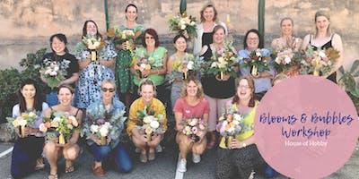 Blooms & Bubbles - Flower Arranging Workshop