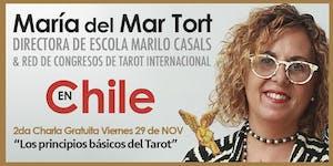 """María del Mar Tort en Chile : 2da Charla Gratuita """"Los..."""