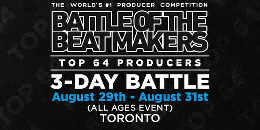 BATTLE OF THE BEAT MAKERS 2019 - All 3 Battles (Bundle Package)