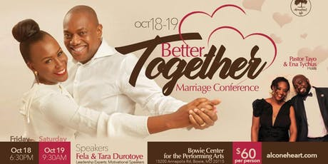 Better Together Marriage Conference tickets