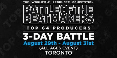 BATTLE OF THE BEAT MAKERS 2019 - Main Event