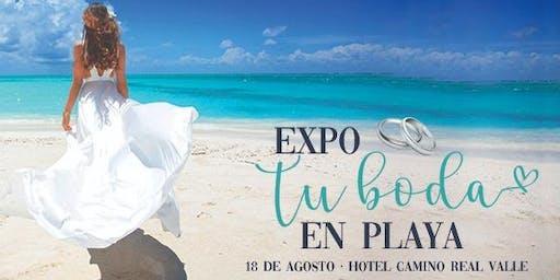 EXPO TU BODA EN PLAYA 2019