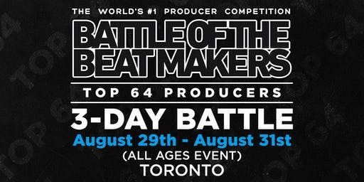 BATTLE OF THE BEAT MAKERS 2019 - All Weekend Access Pass (3 Battles + Conference)