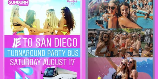 IE TO SAN DIEGO PARTY BUS SOLD OUT FOR EXTRA TICKETS TEX (626)484-3773