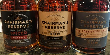 Chairman's Reserve Rum Tasting tickets