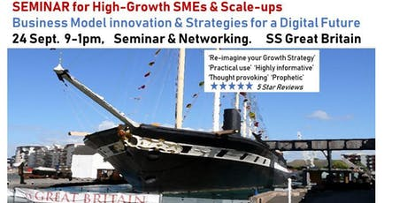 INNOVATE, SCALE, GROW - Business Models & Strategies for a Digital Future tickets