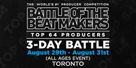 BATTLE OF THE BEAT MAKERS 2019 - Preliminaries Day 2 tickets
