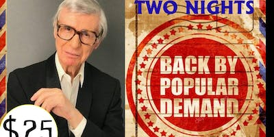 THE AMAZING KRESKIN - 2 DAYS - SAT OCT 5 7:00 PM & SUN OCT 6 6:00 PM