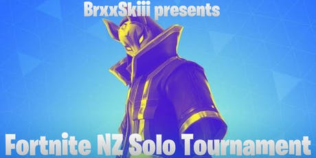 Fortnite NZ Solo Tournament tickets