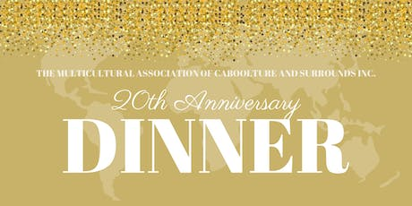 20th Anniversary Multicultural Dinner tickets
