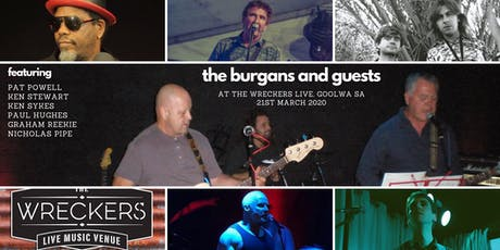 The Burgans & Guests tickets