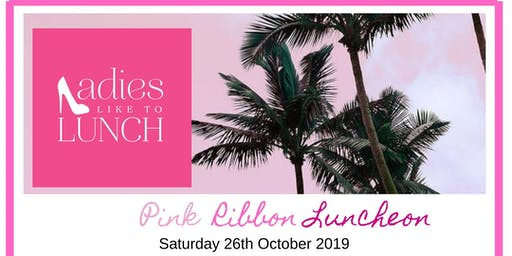 Ladies like to lunch Pink Ribbon event