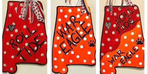 ROLL TIDE! WAR EAGLE! Door Hangers