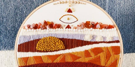 Intro to Modern Embroidery Art with Meghan Rosko of Nutmeg & Honeybee tickets