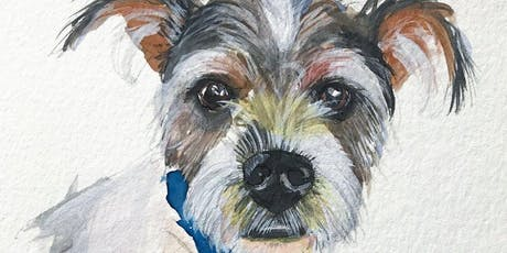 Makers Workshop: Watercolor Pet Portraits tickets