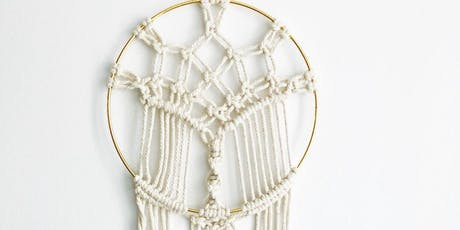 Makers Workshop: Circle Macrame Wall Hanging tickets