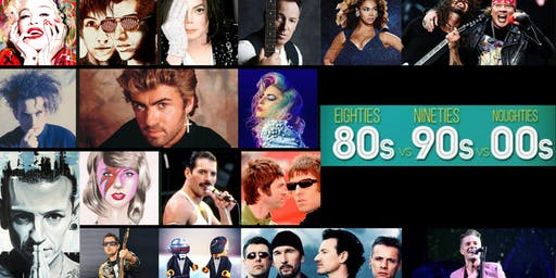 FIESTA 80s - 90s - 2000s - SABADO 31 AGOSTO