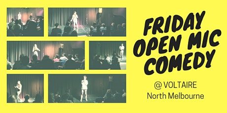 Friday Open Mic Comedy tickets