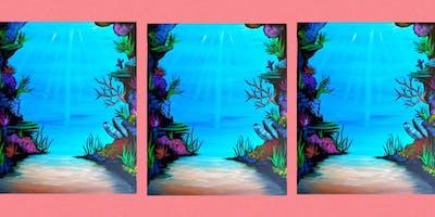 Create a Seascape Family Paint Party