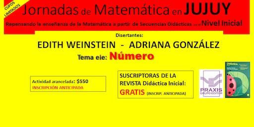 Jornadas de Matemática p/ Nivel Inicial - eje NÚMERO en JUJUY