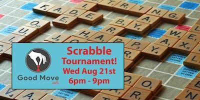 Scrabble Tournament August 21st!