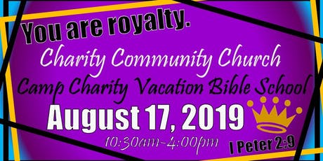 Camp Charity VBS tickets