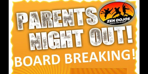 Board Breaking Kid's Night Out