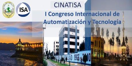 Congreso Internacional de Automatización y Tecnología CINATISA 2019 entradas
