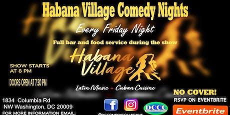 Habana Village Comedy Nights tickets