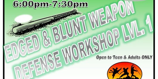 Edged and Blunt Weapon Defense Workshop Lv1