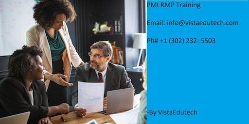 PMI-RMP Classroom Training in Modesto, CA