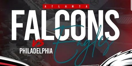 ATLANTA FALCONS VS. PHILADELPHIA EAGLES OUTSIDE DAYPARTY/TAILGATING PARTY tickets